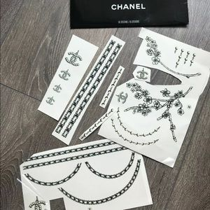 💯CHANEL temporary tattoos